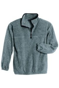 Gray Pullover Fleece
