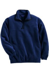 Navy Pullover Fleece
