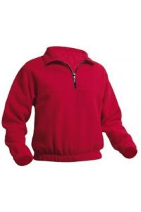 Red Pullover Fleece