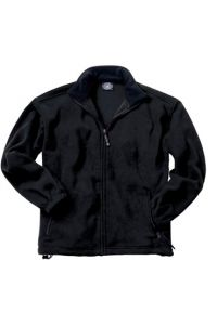 Black Full Zip Fleece Jacket