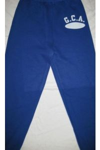 Royal Blue Sweatpants with GCA