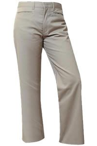 Girls Khaki Midrise Pants with Hartley - House Day