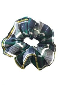 WCA Plaid Scrunchie
