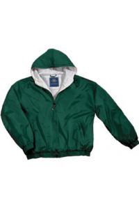 Green Full-Zip Jacket