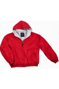 Red Full-Zip Jacket