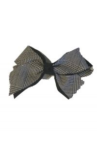 CCPSG Plaid Bow on Clip