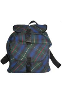 Plaid Bookbag