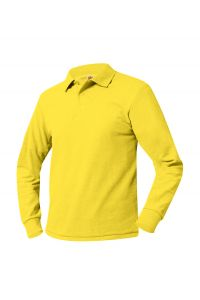 Yellow Long Sleeve Polo