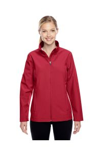 CLEARANCE - Ladies Red Soft Shell Jacket with LCCS Crest - Final Sale