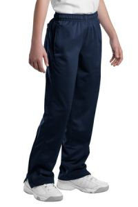 Navy Polyester Track Pant