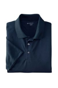 Navy WICKING Short Sleeve Polo with LCCS