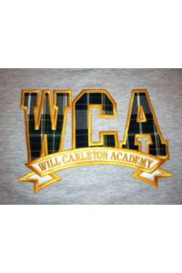 WCA Plaid Applique Sweatshirt