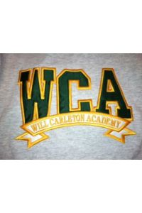 WCA Solid Applique Sweatshirt